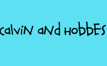 Calvin And Hobbes Font Family Free Download