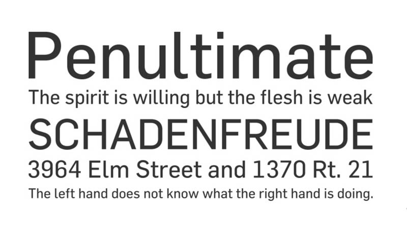 Flama Font Family Download