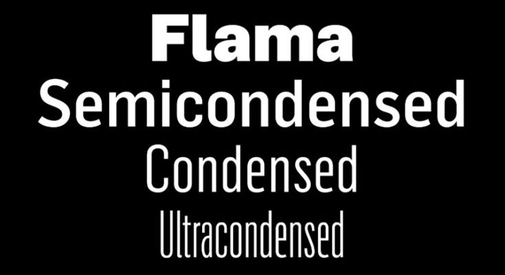 Flama Font Family Free Download