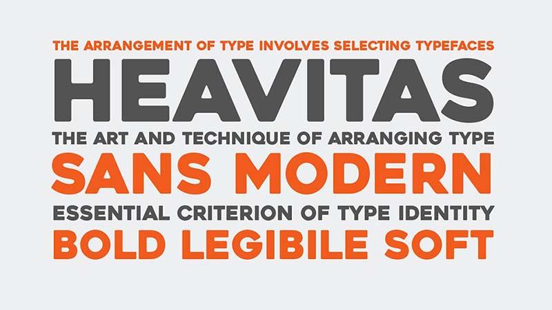 Heavitas Font Family Download