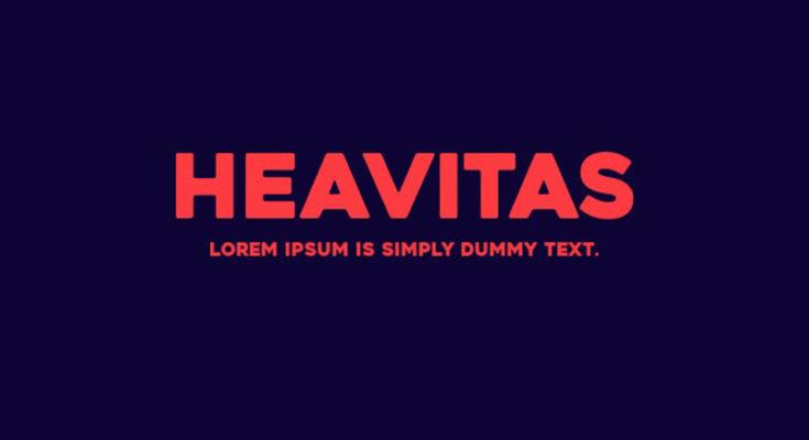 Heavitas Font Family Free Download