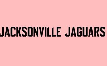 Jacksonville Jaguars Font Family Free Download