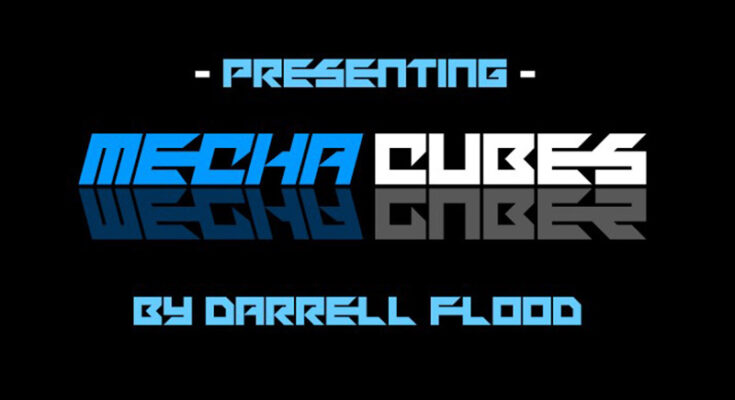 Mechacubes Font Family Free Download