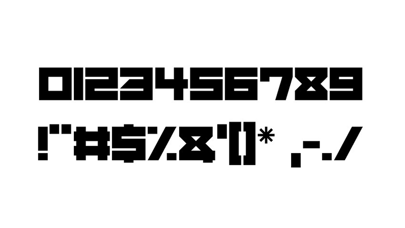 Mechacubes Font Free Download