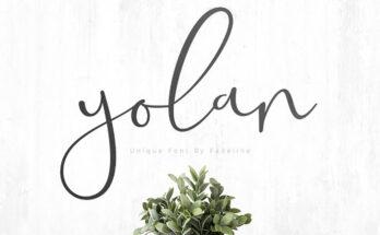 Yolan Font Family Free Download
