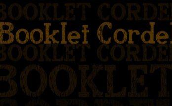 Booklet Cordel Font Family Free Download