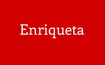 Enriqueta Font Family Free Download