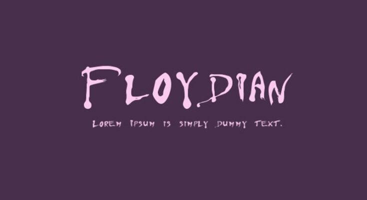 Floydian Font Family Free Download