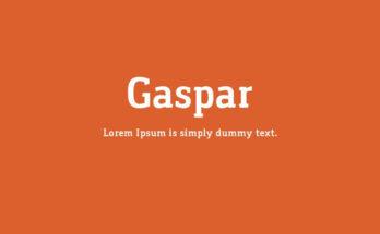 Gaspar Font Family Free Download