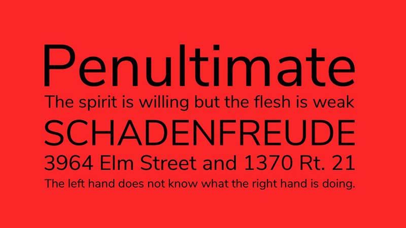 Nunito Font Free Download