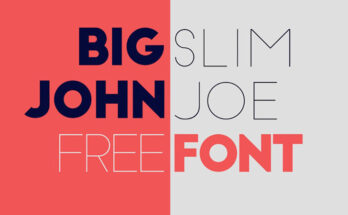 Big John Font Family Free Download