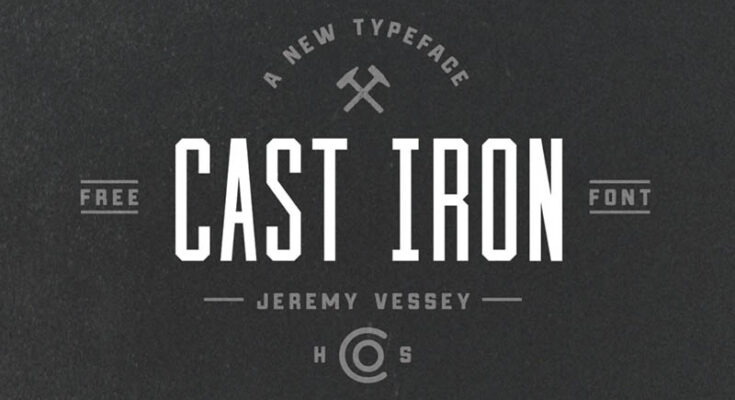 Cast Iron Font Family Free Download