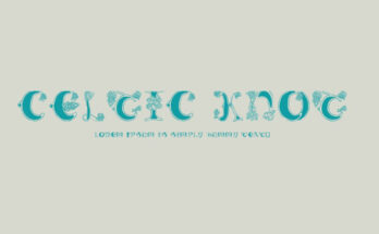 Celtic Knot Font Family Free Download