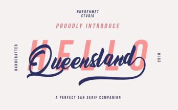 Queensland Font Family Free Download