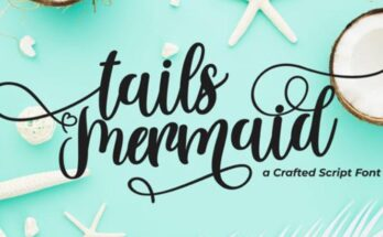 Tails Mermaid Font Family Free Download