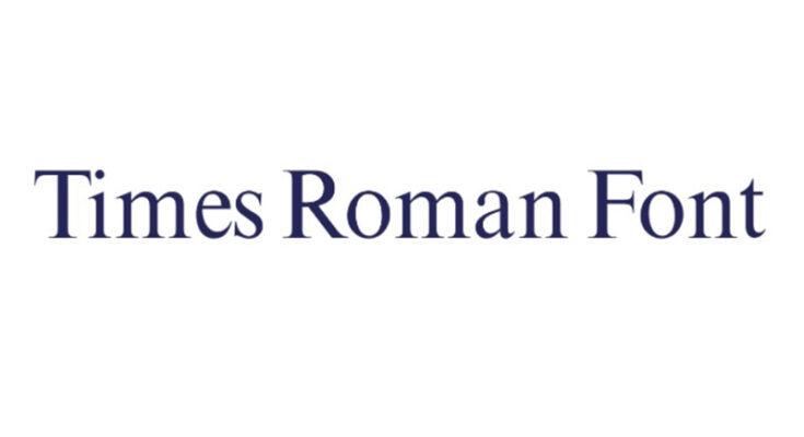 Times Roman Font Family Free Download