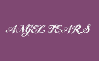 Angel Tears Font Family Free Download