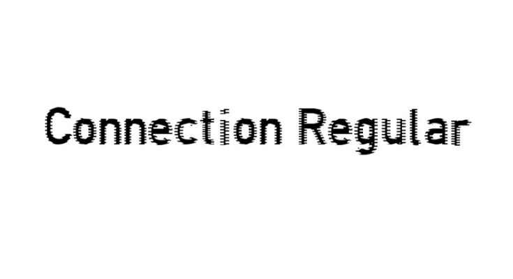 Connections Font Family Free Download