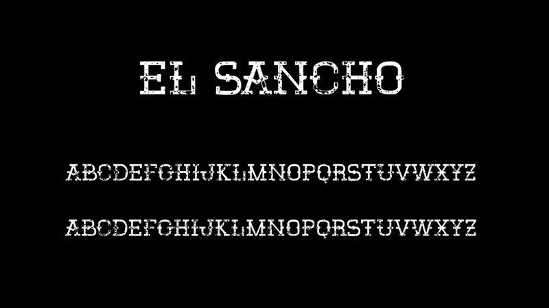EL Sancho Font Family Download