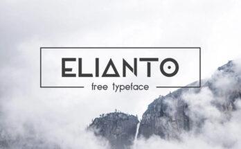 Elianto Font Family Free Download