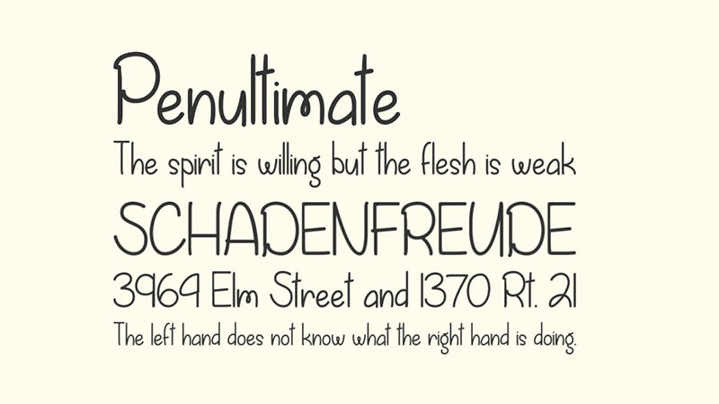 Fall is Coming Font Family Download