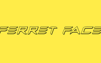 Ferret Face Font Family Free Download