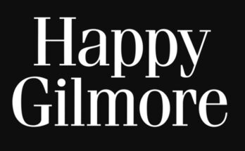 Happy Gilmore Font Family Free Download