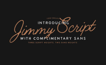 Jimmy Script Font Family Free Download