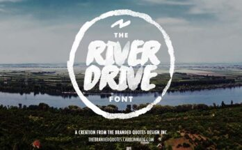 River Drive Font Family Free Download