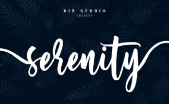 Serenity Font Family Free Download