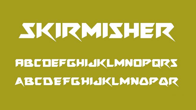 Skirmisher Font Free Download
