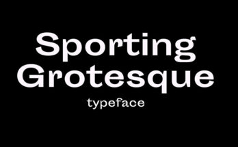 Sporting Grotesque Font Family Free Download
