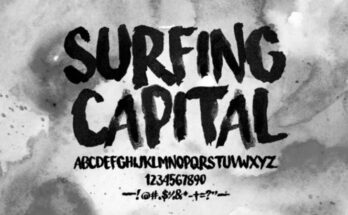 Surfing Capital Font Family Free Download