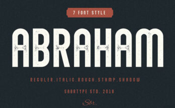Abraham Font Family Free Download