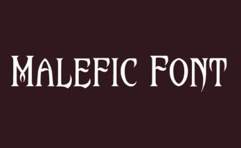 Malefic Font Family Free Download
