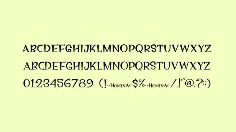 Homina Font Free Download