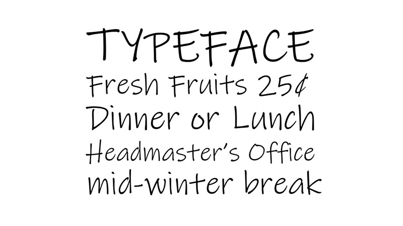 Ink Free Font Family Download