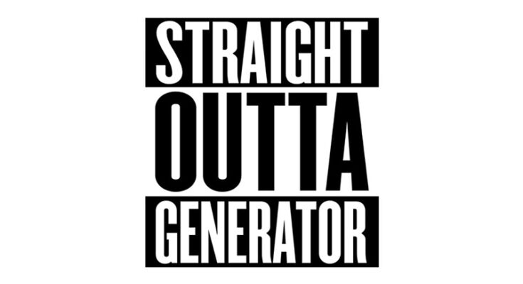 Straight Outta Compton Font Family Free Download